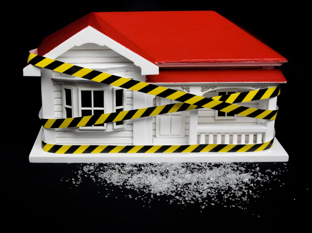 condemned home needs meth clean-up